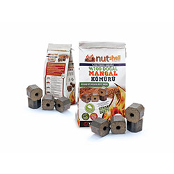Nutshell Ecological Briguetta Mangal Kömürü - 3 kg