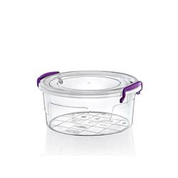 Hobby Life Plastik Yuvarlak Multi Box 6'lı Saklama Kabı - 1,2 lt