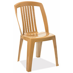 Papatya Favori Plastik Sandalye - Bej