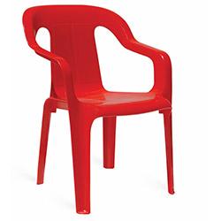 Papatya Mini Plastik Çocuk Koltuğu - Kırmızı