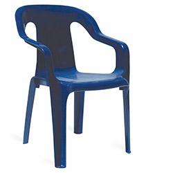 Papatya Mini Plastik Çocuk Koltuğu - Mavi