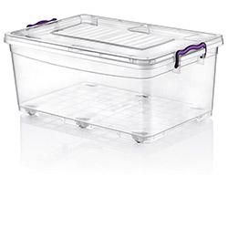 Hobby Life Plastik Tekerlekli Multi Box Saklama Kabı - 40 lt