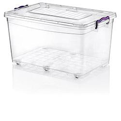Hobby Life Plastik Tekerlekli Multi Box Saklama Kabı - 50 lt