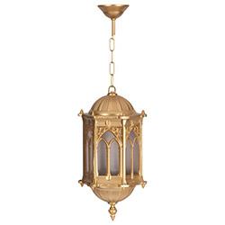 Şanlı Altın Yıldız Boyalı Osmanlı Sarkıt Aplik (Ş.A 1765)