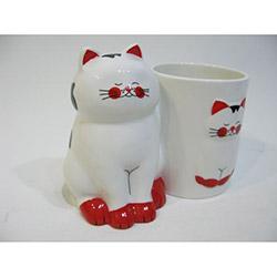 Cats By Luyano Çapkın Kediler Set Üstü Kaşıklık
