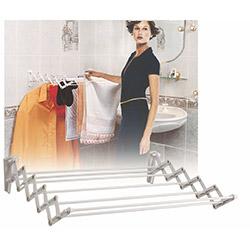 Doğuş Katlanabilir Demirli Çamaşır Askılık - 80 cm
