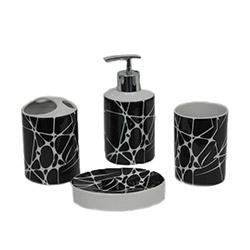 Yargıcı YGC10816 4'lü Porselen Banyo Seti
