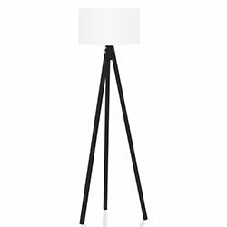 Comfy Home 3 Ayaklı Tripod Lambader - Beyaz / Siyah