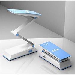 Nisa Luce Dekoratif Şarjlı Ledli Masa Lambası - Mavi