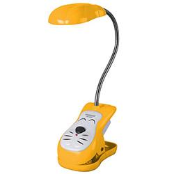 Nisa Luce Mandallı Ledli Masa Lambası - Sarı
