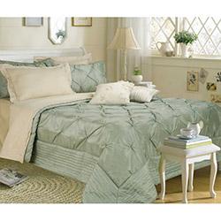 Yataş Donts Çift Kişilik Yatak Örtüsü - Su Yeşili