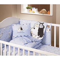 Yataş Sheep Ranforce Bebek Nevresim Takımı - Mavi
