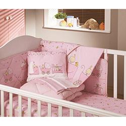 Yataş Baby Ranforce Bebek Nevresim Takımı - Pembe