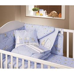 Yataş Baby Ranforce Bebek Nevresim Takımı - Mavi