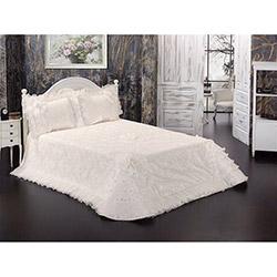 Lavianna Şehrazat Çift Kişilik Abiye Yatak Örtüsü - Beyaz