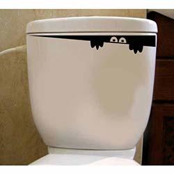 Özgül Tuvalet Sticker WC-1