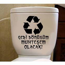 Özgül Tuvalet Sticker WC-7