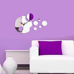 Dekoratif Kırılmaz Ayna Saat - OGAS-4