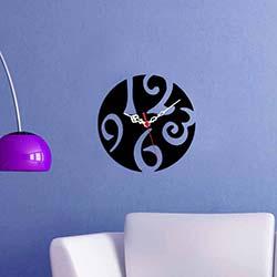 Dekoratif Kırılmaz Akrilik Saat - OGSS-1