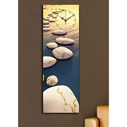 Quick (3090UCS-4) 3090 Canvas Tablo Saat - 30x90 cm