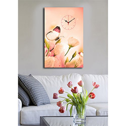 Quick (4570UCS-15) 4570 Canvas Tablo Saat - 45x70 cm