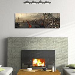 Quick Canvas 3090UC-43 Tablo 30x90 cm