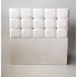 House Line Cotton Baza Başlığı (90 cm) - Beyaz