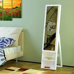 House Line Necole Aynalı Takı Dolabı - Beyaz