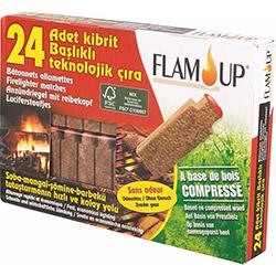 Flam Up Kibrit Başlıklı Teknolojik 24'lü Çıra
