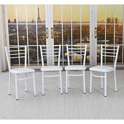 Remaks Irmak Sandalye (4 Adet) - Beyaz