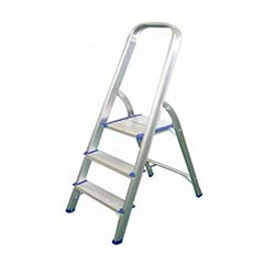 3 Basamaklı Aluminyum Merdiven