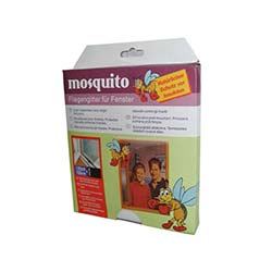 Mosquito Pencere Sineklik Lux - Siyah