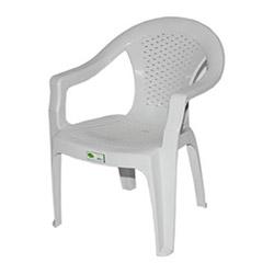 Estelia Selen Plastik Sandalye - Beyaz