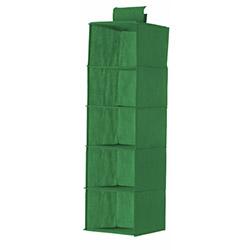 Lorin 5 Gözlü Organizer - Yeşil