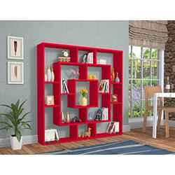 Rafline Frame Kitaplık - Kırmızı