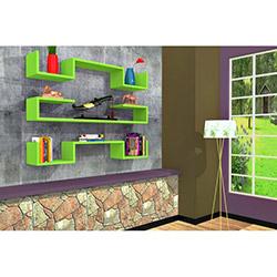 Rafline Violet Duvar Rafı - Yeşil