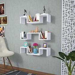 Rafline Elegant Duvar Rafı - Beyaz