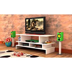 Rafline Twist Tv Sehpası - Beyaz