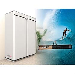 Prado Sörf Çantalı Bez Dolap - Beyaz
