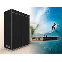 Prado Sörf Çantalı Bez Dolap - Siyah