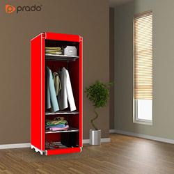 Prado Slim Fit Varyant Bez Dolap - Kırmızı