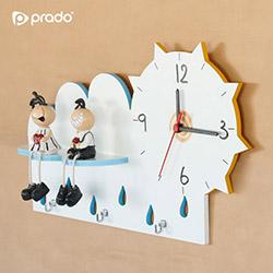 Prado Dekoratif Saat Anahtarlık