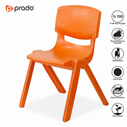 Prado Junior 2'li Çocuk Sandalyesi - Turuncu