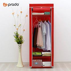 Prado Simple Portatif Bez Dolap - Kırmızı