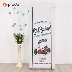 Prado Simple Old School Portatif Bez Dolap - Beyaz