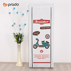 Prado Simple Scooter Portatif Bez Dolap - Beyaz