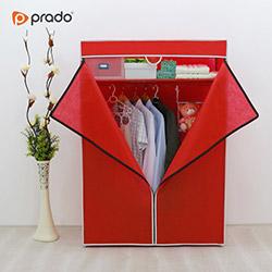Prado Basic Portatif Bez Dolap - Kırmızı