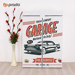 Prado Basic Garage Portatif Bez Dolap - Beyaz