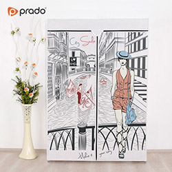 Prado Basic Venedik Portatif Bez Dolap - Beyaz