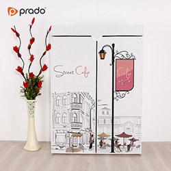 Prado Basic Cafe Portatif Bez Dolap - Beyaz